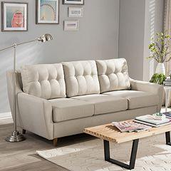 Baxton Studio Mckenzie Tufted Sofa  by