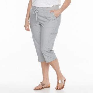 Plus Size Gloria Vanderbilt Grecia Pull-On Skimmers