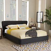 Baxton Studio Camden Modern Platform Bed