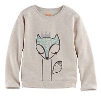 Girls 4-10 Jumping Beans® Long-Sleeved Pullover