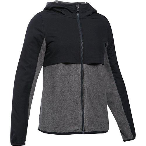 Girls 7-16 Under Armour Phenom Fleece Full-Zip Hoodie