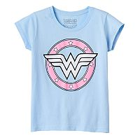 Girls 7-16 DC Comics Wonder Woman Logo Graphic Tee