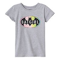 Girls 7-16 DC Comics Bat Girl Logo Graphic Tee