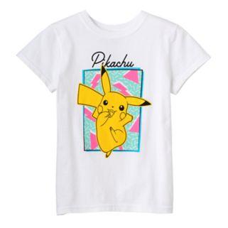 Girls 7-16 Pokemon Pikachu Graphic Tee