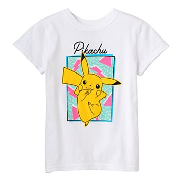 Girls 7-16 Pokemon Pikachu Graphic Tee