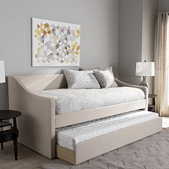 Baxton Studio Barnstorm Contemporary Daybed & Trundle