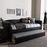 Baxton Studio Camino Contemporary Daybed & Trundle