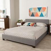 Baxton Studio Elizabeth Contemporary Platform Bed