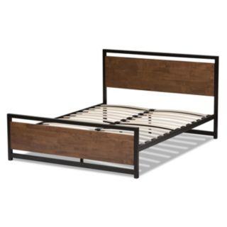 Baxton Studio Gabby Industrial Platform Bed