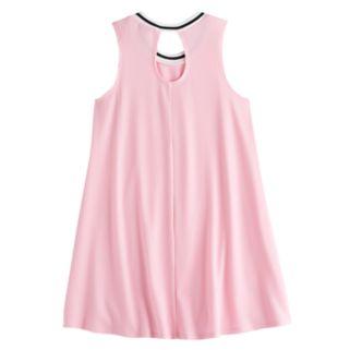 Girls 7-16 Love, Fire Ribbed Ringer Tank Dress