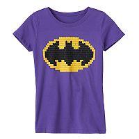 Girls 7-16 Lego Batman Graphic Tee