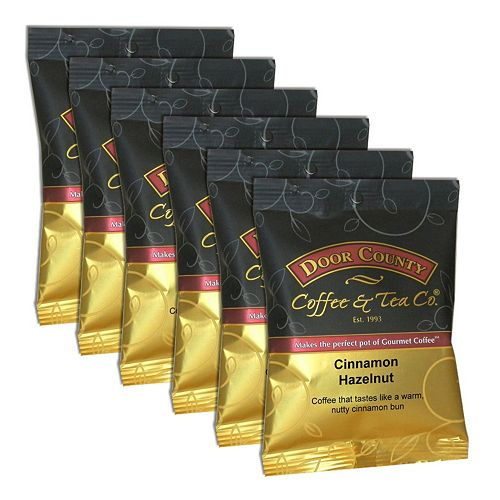 Door County Coffee Cinnamon Hazelnut Ground Coffee 6-pk.