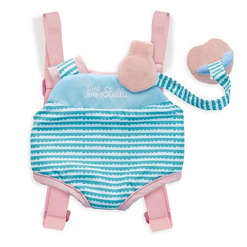 Manhattan Toy Wee Baby Stella Travel Time Carrier Set
