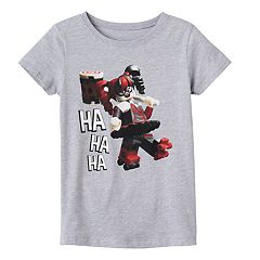 Girls 7-16 Lego Harley Quinn 'Ha Ha Ha' Graphic Tee