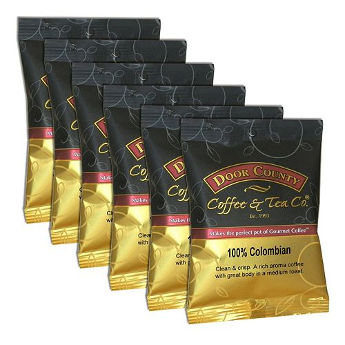 Door County Coffee 100% Colombian Ground Coffee 6-pk.