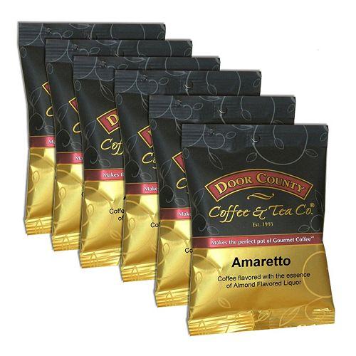 Door County Coffee Amaretto Ground Coffee 6-pk.