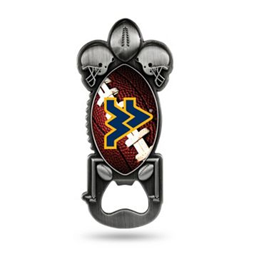 West Virginia Mountaineers Party Starter Bottle Opener Magnet