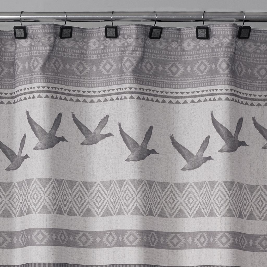 Saturday Knight, Ltd. Wilderness Calling Shower Curtain