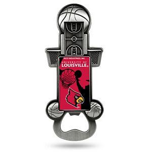 Louisville Cardinals Party Starter Bottle Opener Magnet
