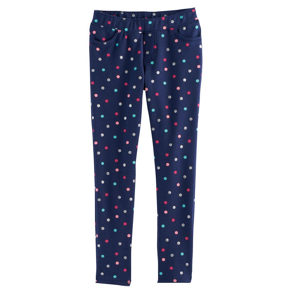 Girls 4-12 Jumping Beans® Print Full-Length Leggings