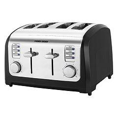 Black & Decker Classic Chrome 4-Slice Toaster
