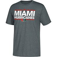 Men's adidas Miami Hurricanes Dassler Tee