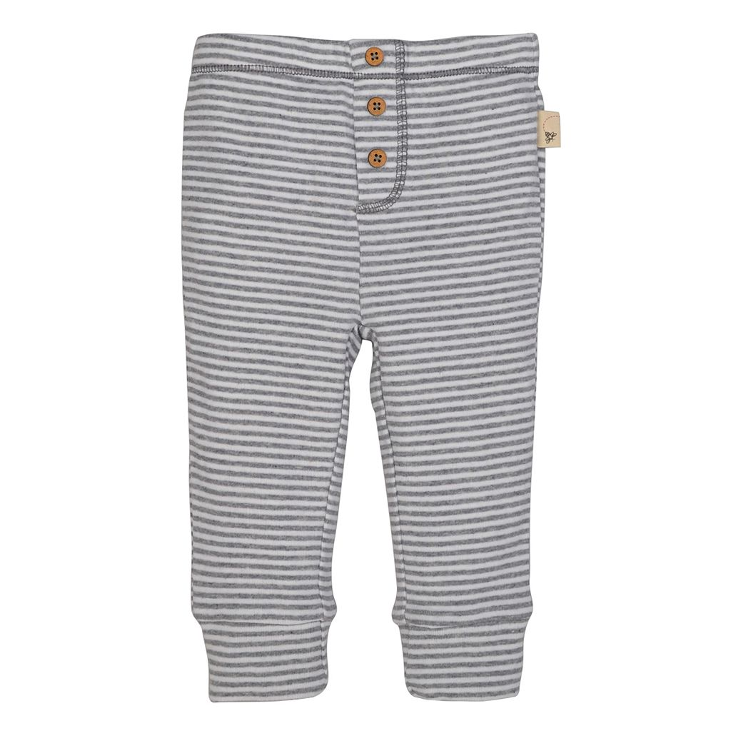 Baby Boy Burt's Bees Baby Organic Striped Bodysuit & Pants Set
