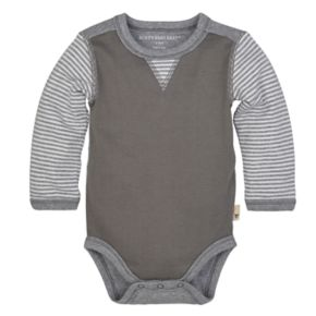 Baby Boy Burt's Bees Baby Organic Striped Bodysuit & Pants Set