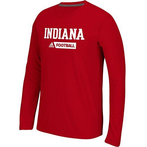 Men's adidas Indiana Hoosiers Sideline Gridiron Tee