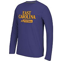 Men's adidas East Carolina Pirates Sideline Gridiron Tee