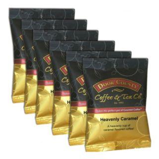 Door County Coffee Heavenly Caramel Ground Coffee 6-pk.