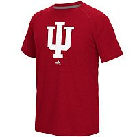 Men's adidas Indiana Hoosiers White Noise Bar Tee