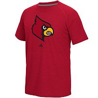 Men's adidas Louisville Cardinals White Noise Bar Tee