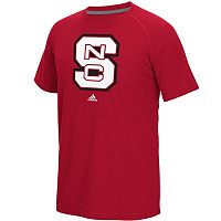 Men's adidas North Carolina State Wolfpack White Noise Bar Tee