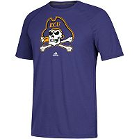 Men's adidas East Carolina Pirates White Noise Bar Tee