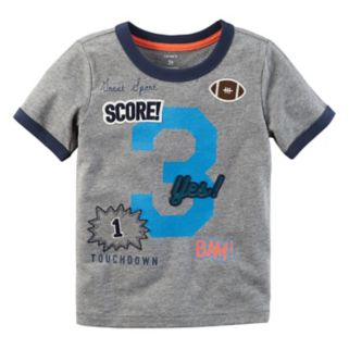 """Boys 4-8 Carter's """"3"""" Patched Applique Graphic Tee"""