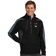 Men's Antigua Miami Heat Discover Pullover