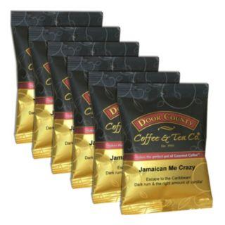 Door County Coffee Jamaican Me Crazy Ground Coffee 6-pk.