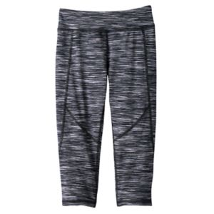 Girls 4-6x Tek Gear® Space-Dyed Capri Leggings