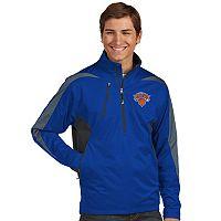 Men's Antigua New York Knicks Discover Pullover