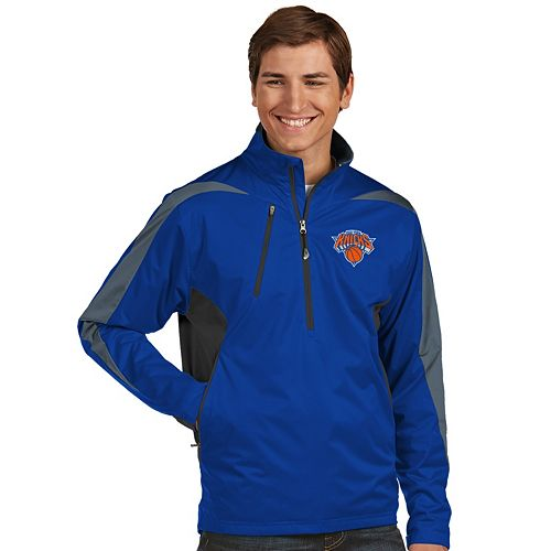 Men's Antigua New York Knicks Discover Pullover