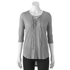 Women's French Laundry Dolman High-Low Hem Tunic