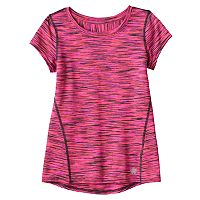 Girls 4-6x Tek Gear® Space-Dyed Performance Tee