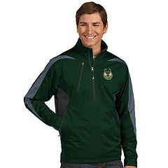 Men's Antigua Milwaukee Bucks Discover Pullover