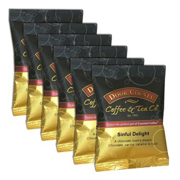 Door County Coffee Sinful Delight Ground Coffee 6-pk.