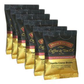 Door County Coffee Vanilla Crème Brulee Ground Coffee 6-pk.