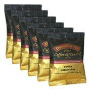Door County Coffee Vanilla Cappuccino Ground Coffee 6 pk