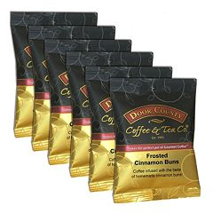 Door County Coffee Frosted Cinnamon Buns Ground Coffee 6-pk.