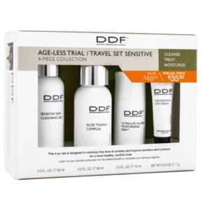 DDF Ageless Anti-Aging Sensitive Skin Starter Set - Travel Size