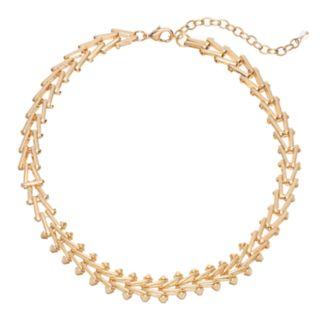 Napier Triangular Link Chain Necklace